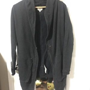 Wilfred Open Cardigan with pockets and zipper